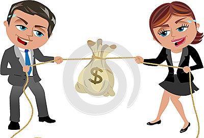 money-tug-war-concept-competition-illustration-featuring-cartoon-business-woman-meg-business-man-bob-competing-33438507